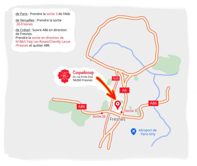 Plan accès Coqueliccop